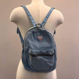 Guess denim backpack